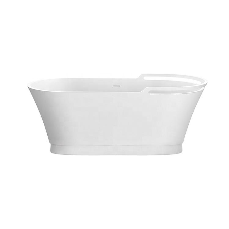 X-TGA07 Factory direct Nordic minimalist style freestanding bath tub