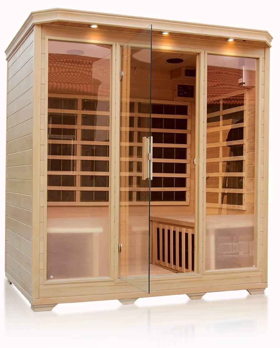 1750x1350x1900mm Indoor Good Far Infrared Sauna Room SN-12