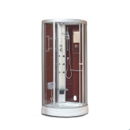 8030 Steam Shower Room Free Standing Fiberglass Indoor Frameless Glass Showers Enclosure