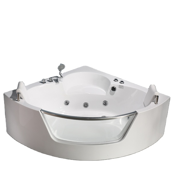 PR-8802 Best Massage Soaking Tubs Baignoire Fan-shaped Whirlpool Massage Bathtub