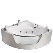 PR-8802 Best Massage Soaking Tubs Baignoire Fan-shaped Whirlpool Massage Bathtub