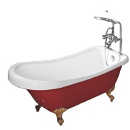 C-3136 Classical Freestanding Bathtub Acrylic Tub Claw Foot Bathtub