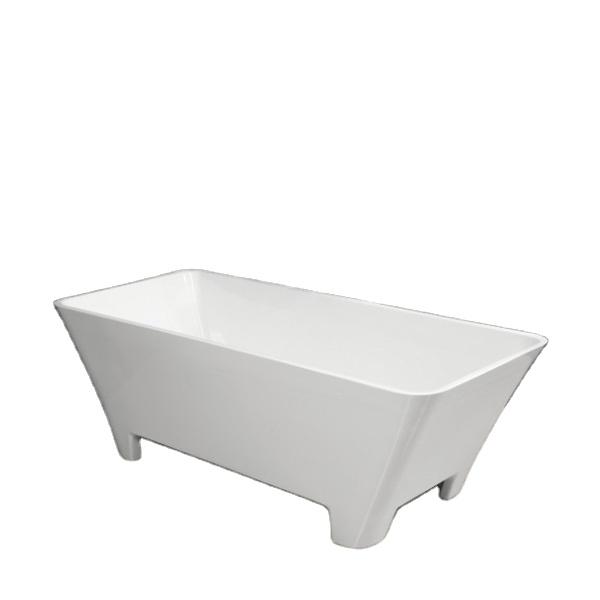 C-3147/C-3148 Free Standing Massage Bathtub With Legs Plastic Tub One Person Hot Tub
