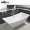 C-3044 Bath Shower Room Corner Bath Tub Floor Stand Plastic Bathtub For Adult