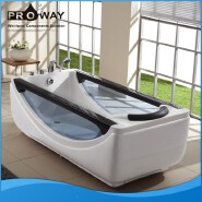 BZ302 PROWAY Massage Plastic Portable Bathtub For Adults