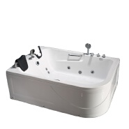 PR-8801 High Quality Spa Portable Freestanding and Pillow Acrylic Luxurious Whirlpool high quality bathtub