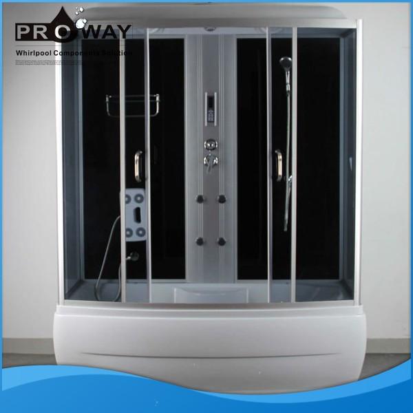 Steam shower room free standing complete corner shower enclosure