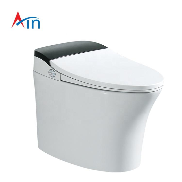 AYZD-T01 Siphonic Jet Flush Intelligent Remote Control Bidet Seat Smart Toilet