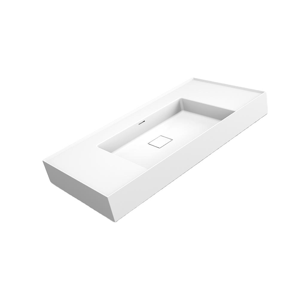 X-FPE01 Hot sale bathroom sink with modern matte white wash basin
