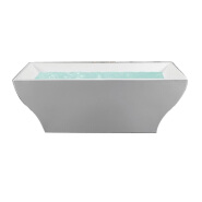 C-3046 CUPC Adults Bathtub For Soaking And Massage Nice Shape 1.8M Portable Soaking Tub