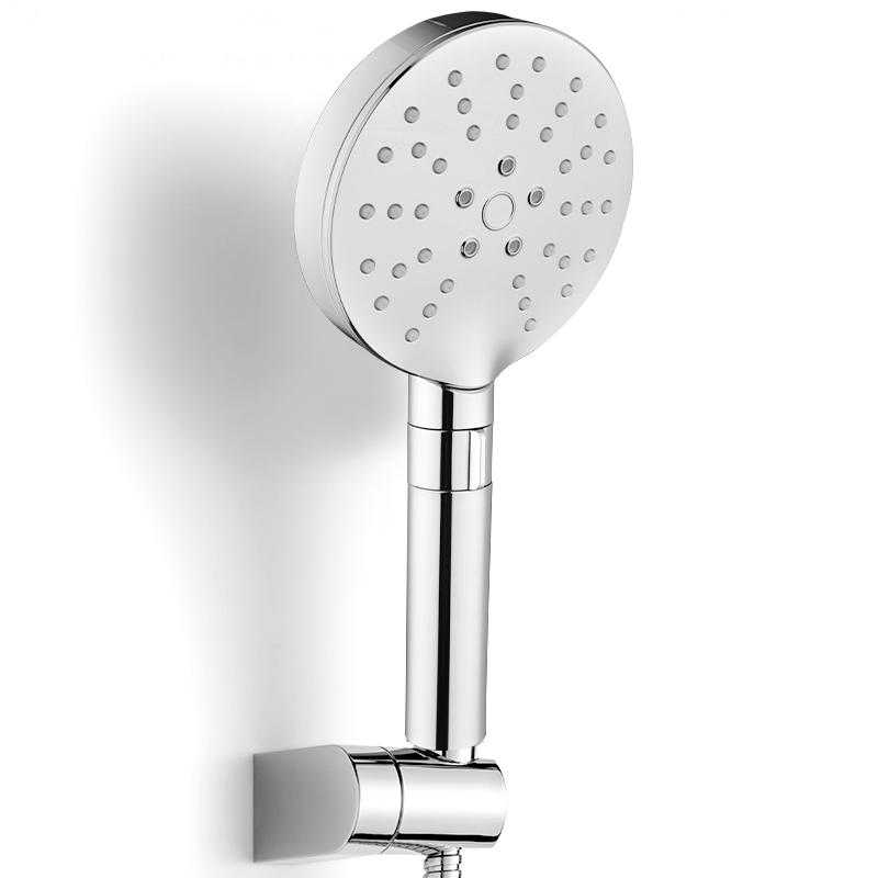 AYZD-A06 Adjustable handhold shower Nozzle Rainfall Spray shower head Round panel water-saving shower head