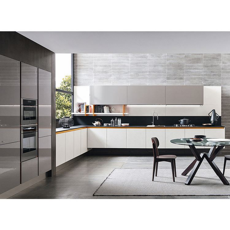 Unique Factory Direct High Gloss Black Kitchen Cabinets China Made Cheap And Fitted Kitchens China