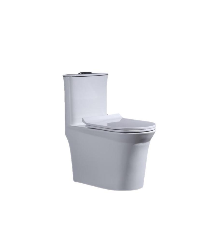 Wholesale modern design dual-flush ceramic integrated one piece toilet