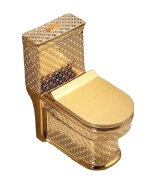8842g hot sale golden toile ceramic one-piece toilet wc toilet commode