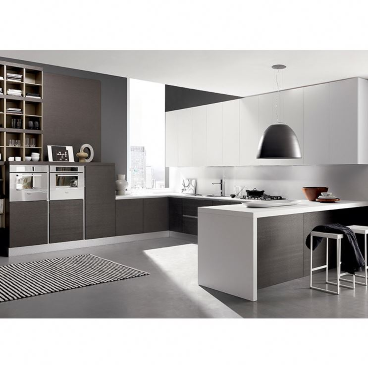 Unique Factory Direct High Gloss Black Kitchen Cabinets China Made Cheap And Fitted Kitchens China Modern Design Home Furniture High Gloss Or Matt White MDF Lacquer Kitchen Cabinet