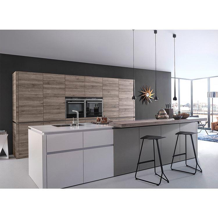 Lacquer Cabinet,Australia Style Modular Kitchen MDF Kitchen With Island Custom Kitchen Manufacturer