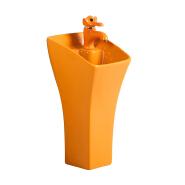 3135 Modern high quality european style bathroom wash basin sink ceramic pedestal basi