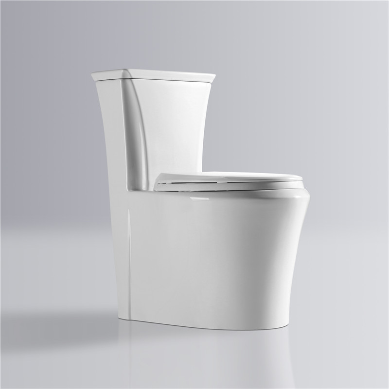 China factory sanitary ware ceramic elongated WC siphonic flushing white cheap bathroom new model toilet