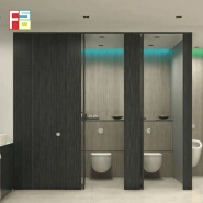 Environmental protection material hpl toilet partition bathroom cubicles for children partition