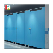 High quality waterproof hpl phenolic board toilet cubicle philippine 12mm hpl men's urinal partition divider modesty board