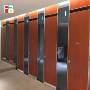 High quality 12mm hpl commercial used bathroom partitions stall bathroom shower partition