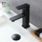HIDEEP bathroom faucet bathroom hot and cold single handle faucet brass black