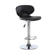 commercial synthetic leather swivel adjustable counter height bar chair seat bar stool