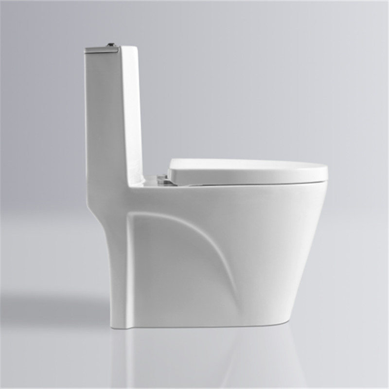 Wholesale cheap sanitary ware ceramic one piece siphonic one piece toilet china for bathroom hotel