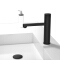 HIDEEP Brass Black Bathroom Faucet Button Control Hot Cold Water Tap Basin Sink Faucet