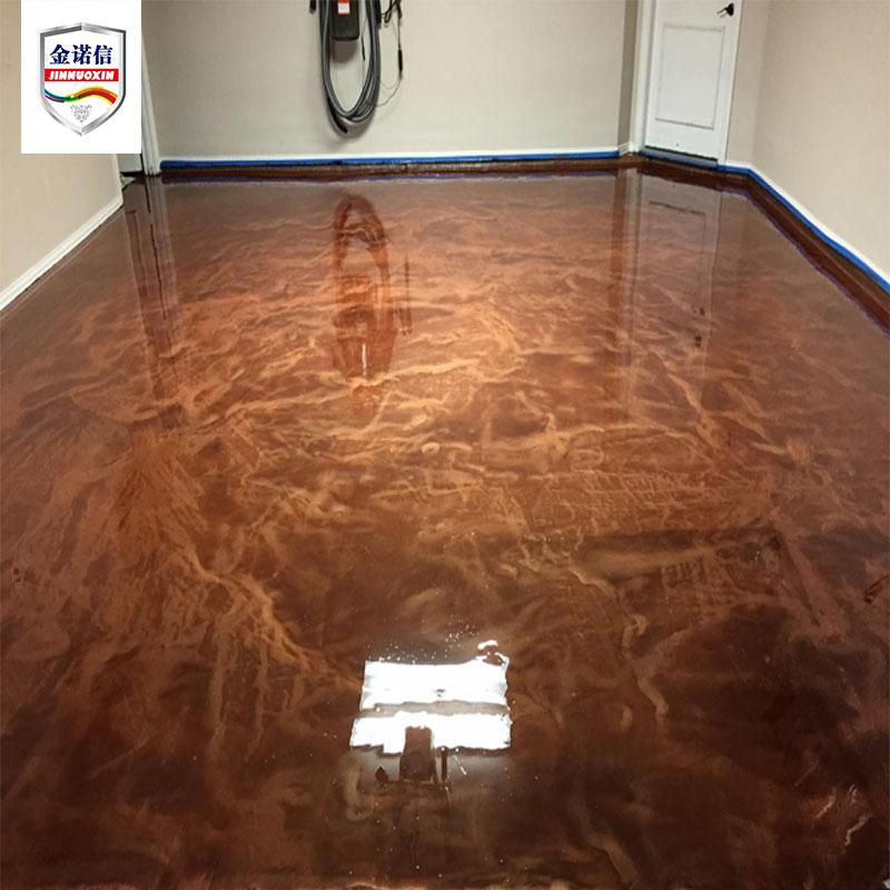 Food grade Metallic Floor Paint Epoxy Resin Coating for Concrete Floor