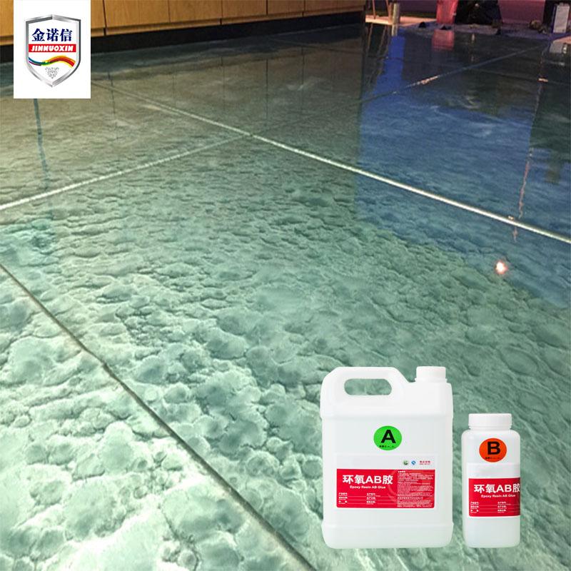 Metallic Floor Paint Epoxy Resin Coating for Concrete Floor