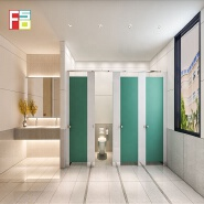 customized colorful waterproof hpl compact board bathroom partitions urinal dividers partitions