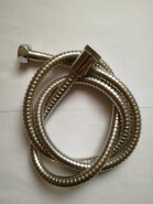 new big diameter chrome nut flexible stainless steel shower hose