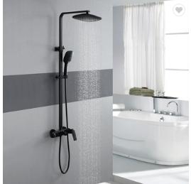 Hot/cold water mixer  HIDEEP Bathroom shower 24x24cm ABS shower head hot cold water rain shower faucetHIDEEP Bathroom shower 24x24cm ABS shower head hot cold water rain shower faucetHIDEEP Bathroom sh