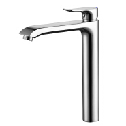 Bathroom basin faucet chrome brass faucet hot and cold water tap