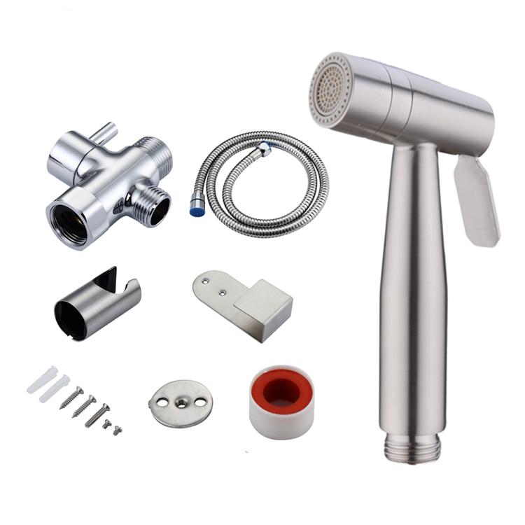 Kaiping Stainless Steel Multi Function Hand Held Shower Faucet Toilet Washing Bidet Sprayer for Muslim