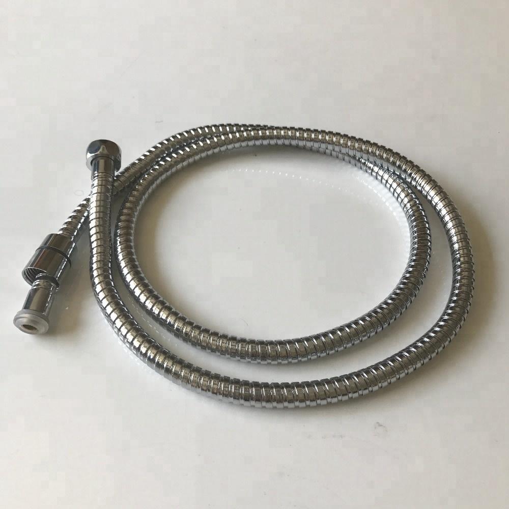 13mm PVC Inner Tube Plating Stainless Steel Flexible Metal Double Lock Shower Hose