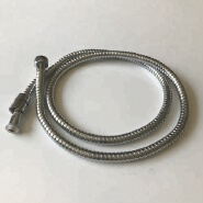 13mm PVC Inner Tube Plating Stainless Steel Flexible Metal Double Lock Shower Hose