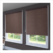 100% Polyester blackout roller shade, double roller shades, blackout roller blind