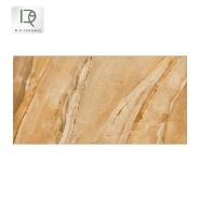 Popular restaurant flooring glazed rustic tile 300x600mm matt porcelain low gloss non-slip Rusty red floor tiles