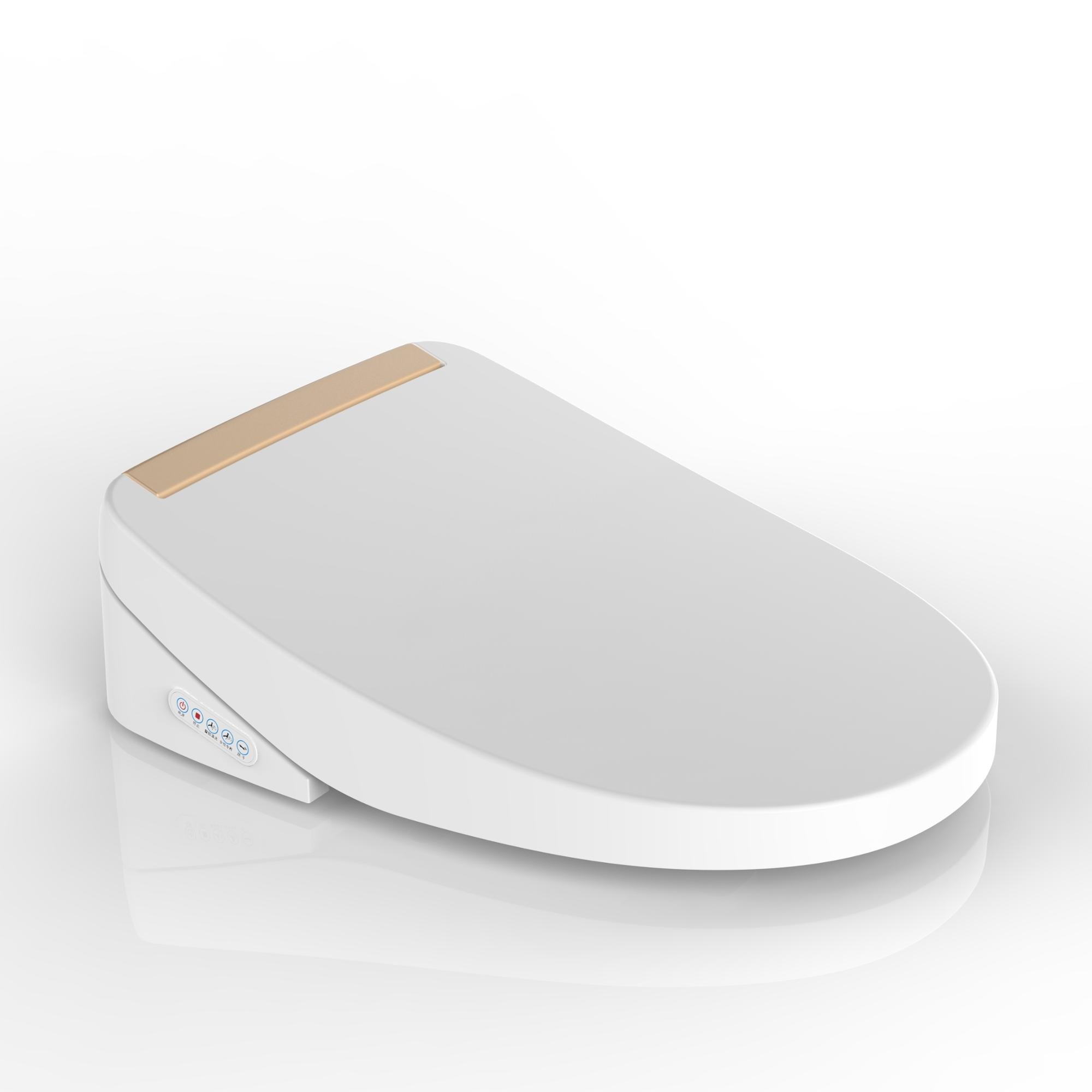 High-tech watermark soft close electronic bidet