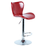 Synthetic leather bar chair