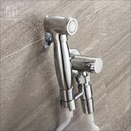 HIDEEP Bathroom Accessories Single Cold Brass Toilet Bidet Spray Set
