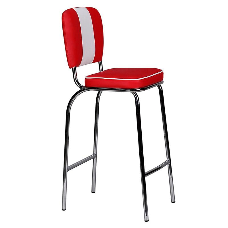 american metal soft bar chair