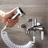 HIDEEP bathroom bidet set brass toilet bidet spray faucet
