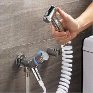 Bidet faucet handheld brass bidet sprayer set