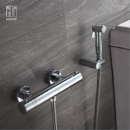 Bathroom accessories Brass thermostatic washes faucet Bidet faucet
