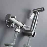 Toilet Hand Held Bidet Faucet Sprayer Gun Toilet Spray For Bathroom Self Cleaning Shower Head Stainless Steel Sprayer Bidet Set