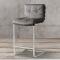 High bar chair leather modern bar stool supplier