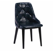 China high back metal dining chair